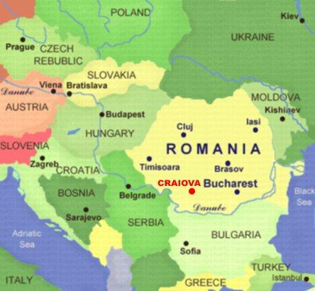 LOCATION - Universitaty of Craiova